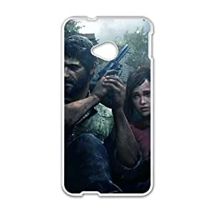HTC One M7 Cell Phone Case White The Last of Us Remastered U3W0AK