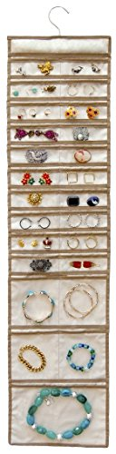 Master Craft 25 Pocket Hanging Jewelry Organizer
