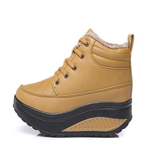 A Âgées Bottes Confortable Chaussures Neige De Occasionnelles D'hiver Slip Chaud Féminin WwFASqwOf