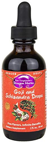 Dragon Herbs Goji & Schizandra Drops — 2 fl oz For Sale