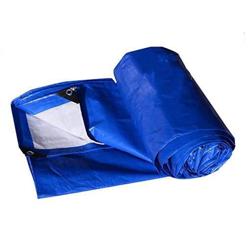 確立しますスキャンダラスドラマCHAOXIANG ターポリン サンシェード 厚い 耐寒性 シェード プラスチッククロス PE 厚さ0.30mm、 20サイズ、 カスタマイズ可能な (色 : 青, サイズ さいず : 3.8x7.8m)