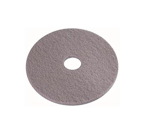 - Case Bodenpolster 16.01.31.0017 Polyester Kristallisation speziellen Pad, 431.8 mm Durchmesser, kristall grau (5 Stück)