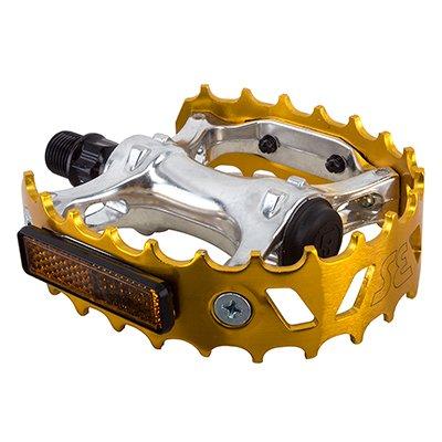 SE Bear Trap BMX Bike Pedals GOLD