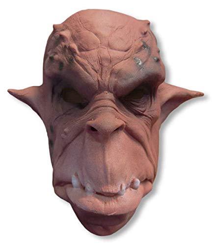 Orko Máscara Foamlatex rojo-marrón: Amazon.es: Juguetes y juegos