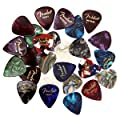 Fender Premium Picks Sampler - Thin, Medium & Heavy Gauges from Fender