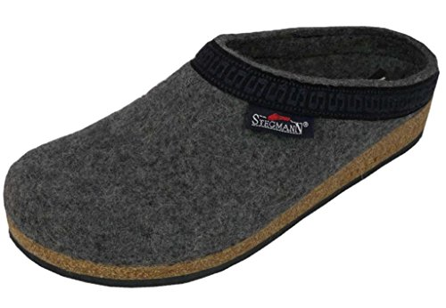 Wool Womens Clogs (Stegmann Women's Wool Clog, Grey 8.5 M)