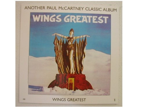Mccartney Beatles Wings - Paul McCartney Promo Poster Wings Greatest Cool Image! The Beatles