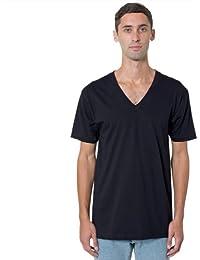 American Apparel Fine Jersey Short Sleeve Vneck 2456