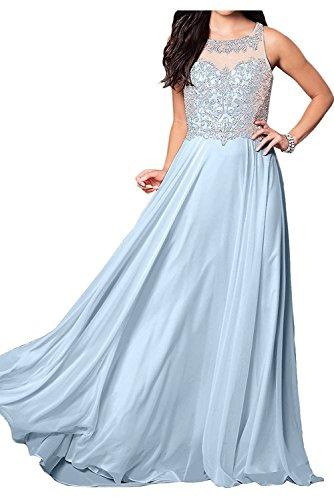 A Kleider Abendkleider Braut Blau Festlichkleider La Linie Hell Lang Ballkleider Damen Ausschnitt Marie U Jugendweihe xpw5U0qBPz