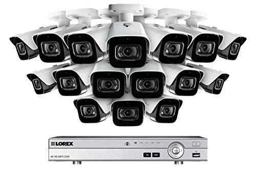 4K Ultra HD 16 Channel Security System with 16 Ultra HD 4K (8MP)