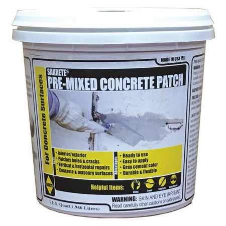 Gray Hydraulic Cement, 50 lb. Pail, Coverage: 300 ft. @ 1'' x 1/4''