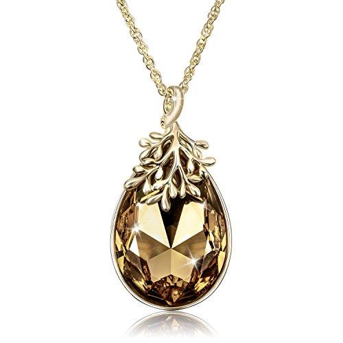 Swarovski Crystal Gold Plated Pendant - 5