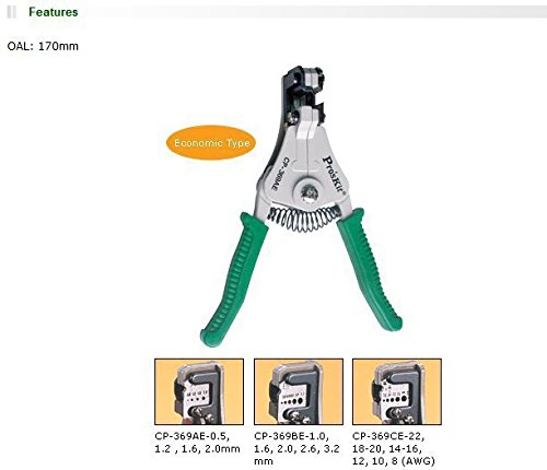 Pro Pro Pro 'sKit cp-369ae Abisolieren Werkzeug für 0,5 1,2 1,6 nadeldicke B074V5QMFY | Lebensecht  f0c5a3