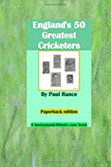 England's 50 Greatest Cricketers Paperback