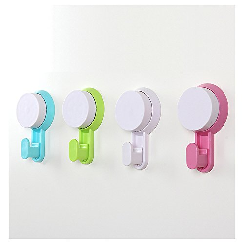 Fuson Super Permanent Magnet Sucker Suction Super Strong Wall Bathroom Kitchen Vacuum Suction Suction On Any Non Porous Smooth Surface Glass Metal And Mirror
