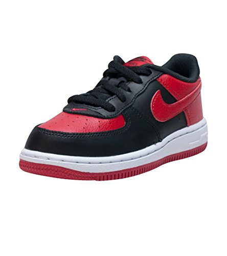 Nike Force 1 (td) Black / Gym Rød / Hvit, 4c