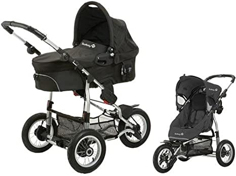 Safety 1st 75703660 Ideal Sportive - Carrito convertible, incluye silla, capazo y adaptadores, color negro: Amazon.es: Bebé