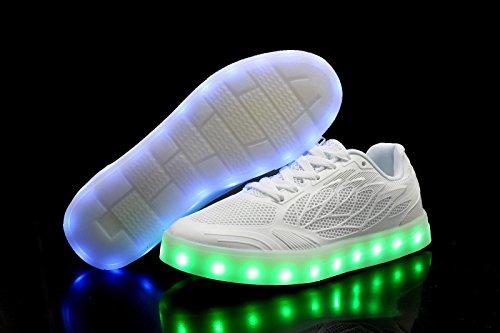 TULUO - Zapatos de cordones de Otra Piel para mujer blanco