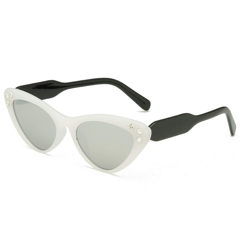 FD-FLY88 Heart Sunglasses Vintage Cat Ey Style Retro Glasses