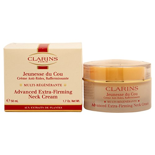 Clarins Advanced Extra Firming Neck Cream for Unisex, 1.7 (Advanced Extra Firming Neck Cream)