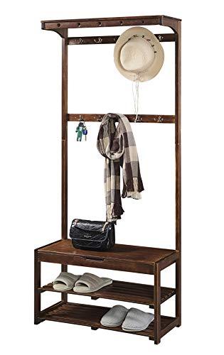 shoe bench coat rack - 3
