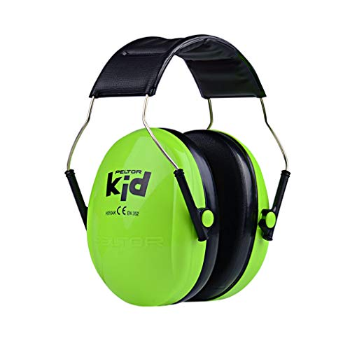 Noise Cancelling Headphones, Childhood Soundproofing Earbands, Noise Protection Headphones. Noise Canceling For Children & Infants, Fully Adjustable For 1-17 Yrs,Noise Reduction 27dB ( Color : Green )