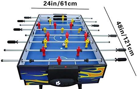 Ifoyo - Tavolo da gioco multifunzione da 4 in 1, 80 cm/120 cm, per giocare a hockey da tavolo, calcio balilla, biliardo, ping pong