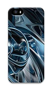 3D Abstract Hd Polycarbonate Hard 3D Case Cover for iPhone 5 and iPhone 5S