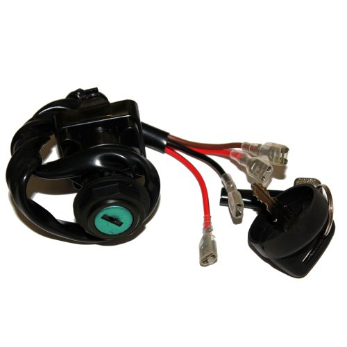 Caltric IGNITION KEY SWITCH Fits POLARIS MAGNUM 2x4 4x4 6x6 1996 1997 ATV - Polaris X Atv 6 6