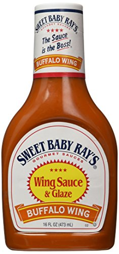 SWEET BABY RAYS Marinade & Sauce, Buffalo Wing, 16 oz