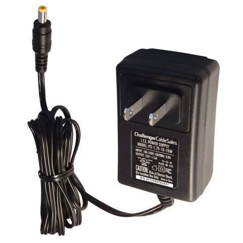 15V 1.5A DC Wall Plug Transformer Power Adapter I.T.E. Power Supply PS-1.75-15-15W 15 Volt - 15w Transformer
