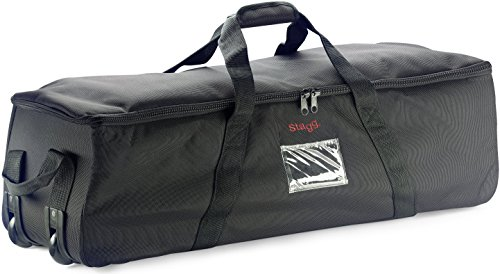 (Stagg PSB-48/T 48-Inch Standard Hardware Bag with Wheels)