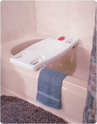 Portable Plastic Bath Board by Rolyn (Portable Bath Board)