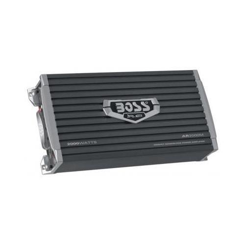 Boss Audio AR2000M - ARMOR 2000 Watts Monoblock MOSFET Power Amplifier