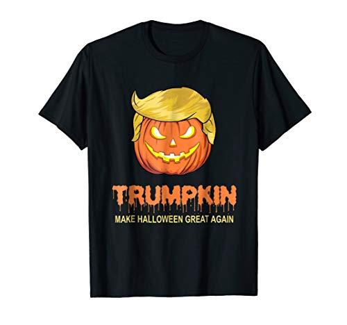 Halloween Trumpkin T-Shirt - Make Halloween Great Again Tee -
