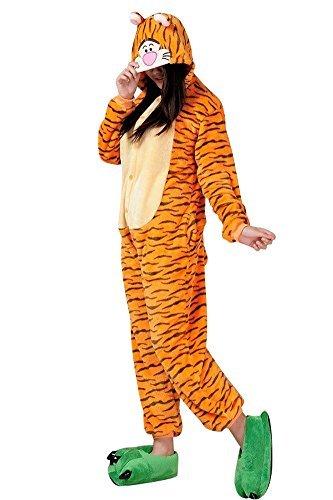 Molly Unisex Adult Kigurumi Homewear Pajamas Cosplay Costume Sleepwear Size L Tiger
