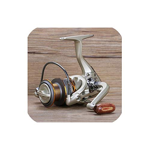 Goodbye 2019 New Fishing Coil Wooden Handshake 12+ 1BB Spinning Fishing Reel Professional Metal Left/Right Hand Fishing Reel Wheels,13,3000 Series (Best Coil Jig 2019)