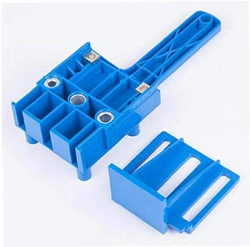 ドリルガイド 6 8 10mm ダボ穴開け 位置決め 木工補佐 (プラスチック)ジグ工具、操作簡単、位置決め治具