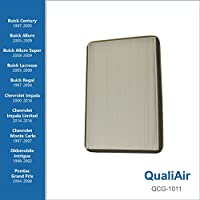 QualiAir QCG-1011, Cabin Air Filter for Buick, Chevrolet, Oldsmobile, Pontiac