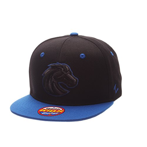 Zephyr NCAA Boise State Broncos Children Boys Youth Z11 Phantom Snapback Hat, Adjustable Size, Black/Team Color