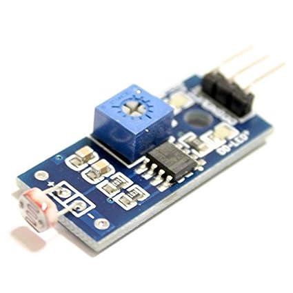 Módulo detector de luz con salida digital, fotodetector, sensor de luminosidad,