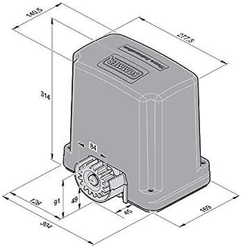 SOMMER RUNner 600 SOMLOQ2 - Accionamiento de puerta corredera para ...