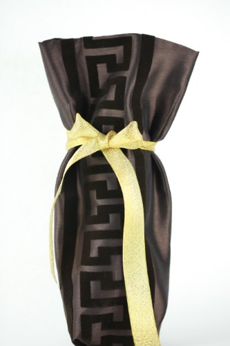 chc-beverly-hills-greece-high-end-wine-champagne-fabric-gift-bag-brown-and-gold-ribbon-one-size