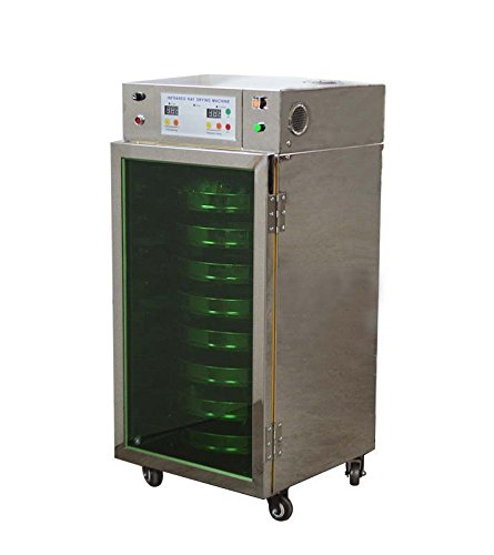 Stainless Steel Automatic Temperature Control Energy EfficientRotatory Drying Machine 110V (8 Layer)