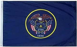 product image for All Star Flags 5x8' Utah Nylon State Flag - All Weather, Durable, Outdoor Nylon Flag