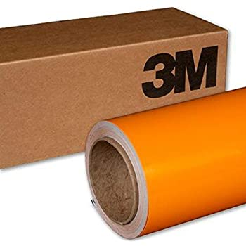 3M 1080 G54 Gloss Bright Orange 5ft x 1ft (5 Sq/ft) Car Wrap Vinyl Film