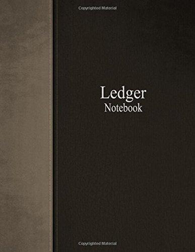 Download Ledger Notebook: Columnar Ruled Ledger, 3 Columns, 8.5x11 Inches, 100 Pages pdf epub