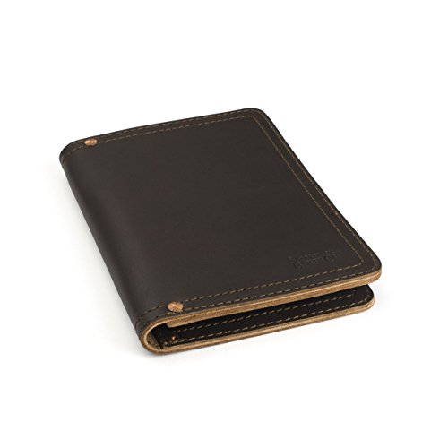 Saddleback Leather Co. Business Notepad Holder Full Grain Leather Pad folio for Legal Pads, Tablets and Business Cards Includes 100 Year Warranty