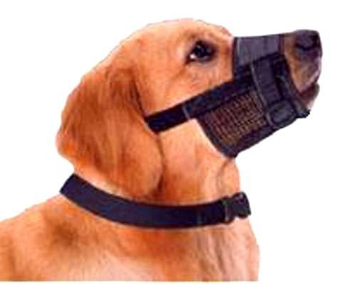 ble Dog Grooming Muzzle - X-SMALL, SMALL, MEDIUM, LARGE, or X-LARGE (S) ()
