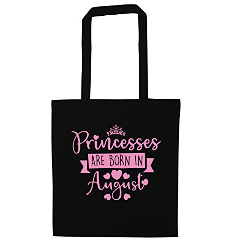 August are in Bag Born Black Princesses Tote Creative Flox wq0agg